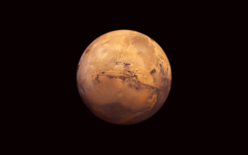 outer space planets Mars wallpaper