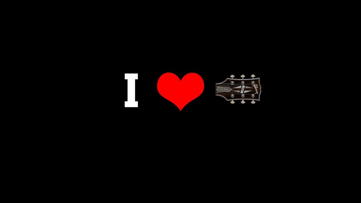 love Gibson Gibson Les Paul wallpaper