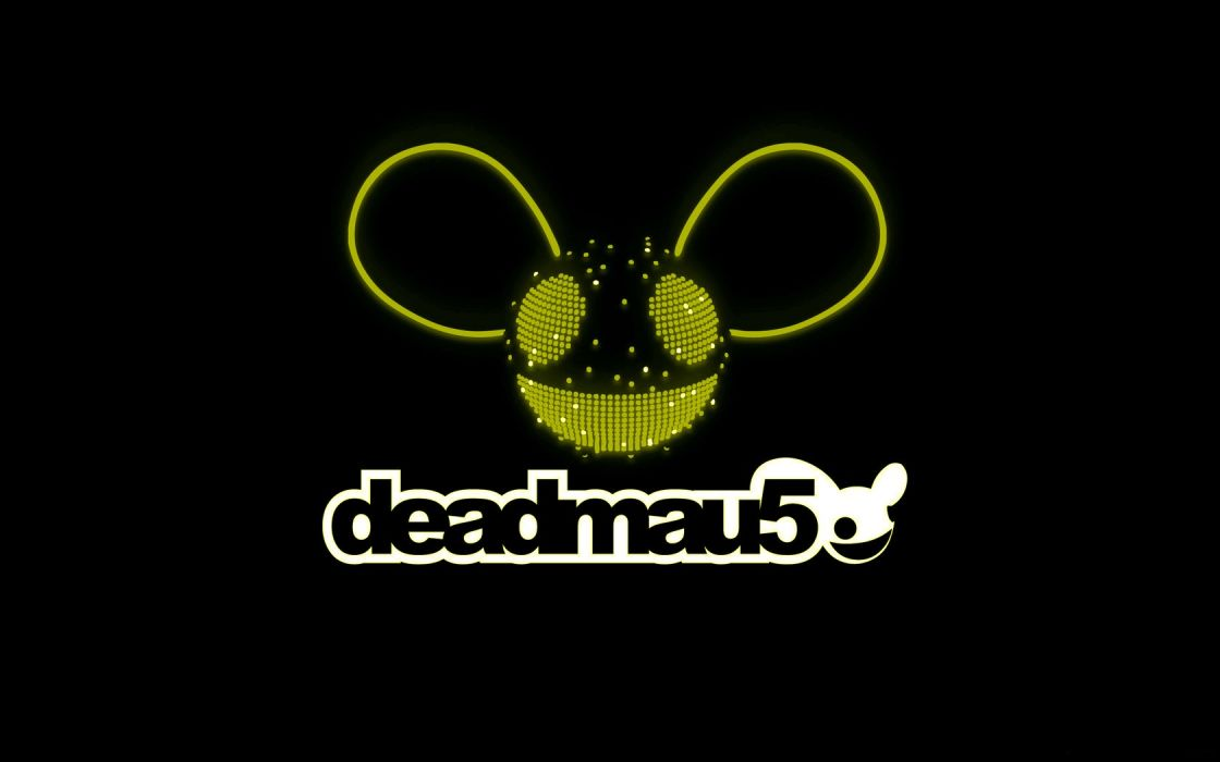 yellow Deadmau5 colors wallpaper