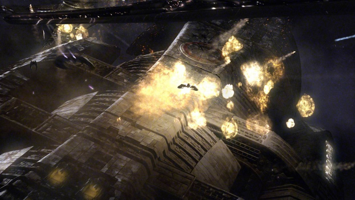 Battlestar Galactica spaceships vehicles cylon Zylon wallpaper