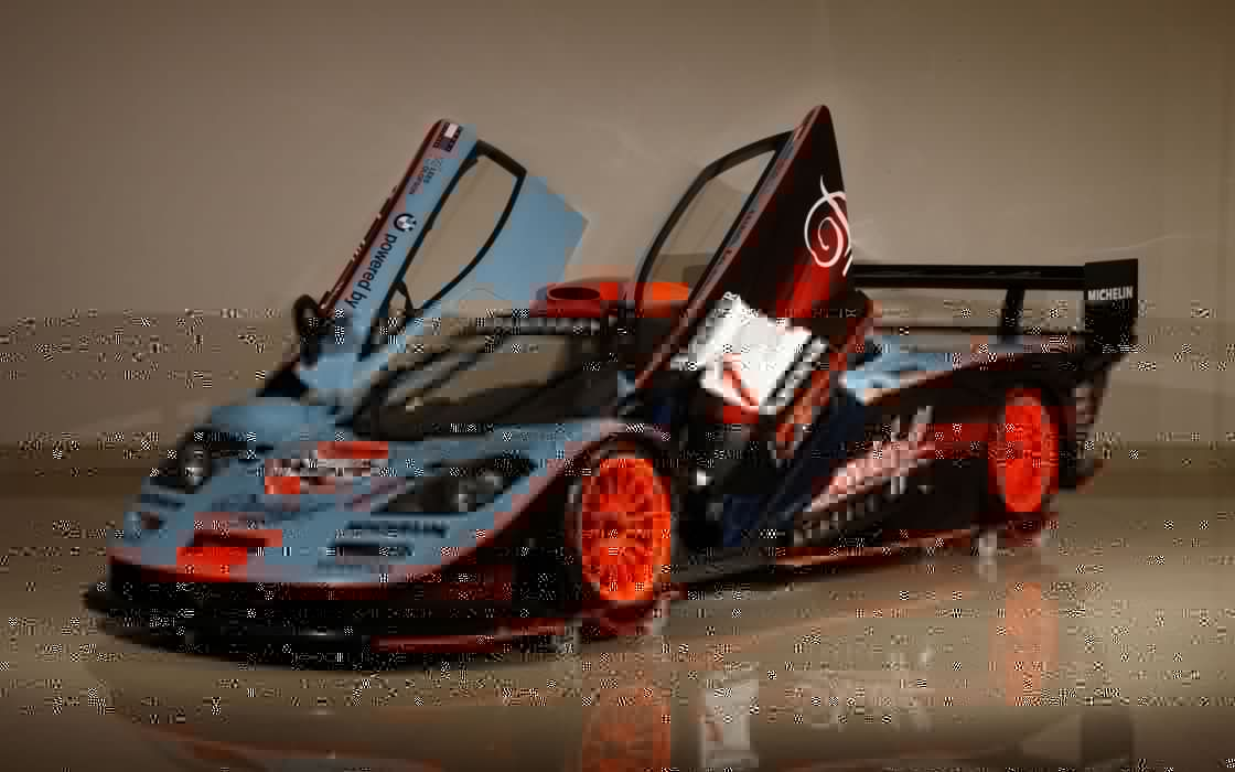 cars team front Le Mans McLaren F1 racing McLaren F1 GTR coupe Warsteiner Gulf FIA GT Michelin Kenwood left doors davidoff wallpaper