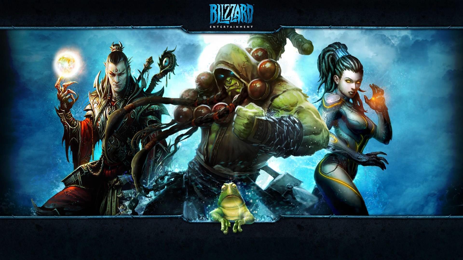 Blizzard Entertainment Background Blizzard Entertainment