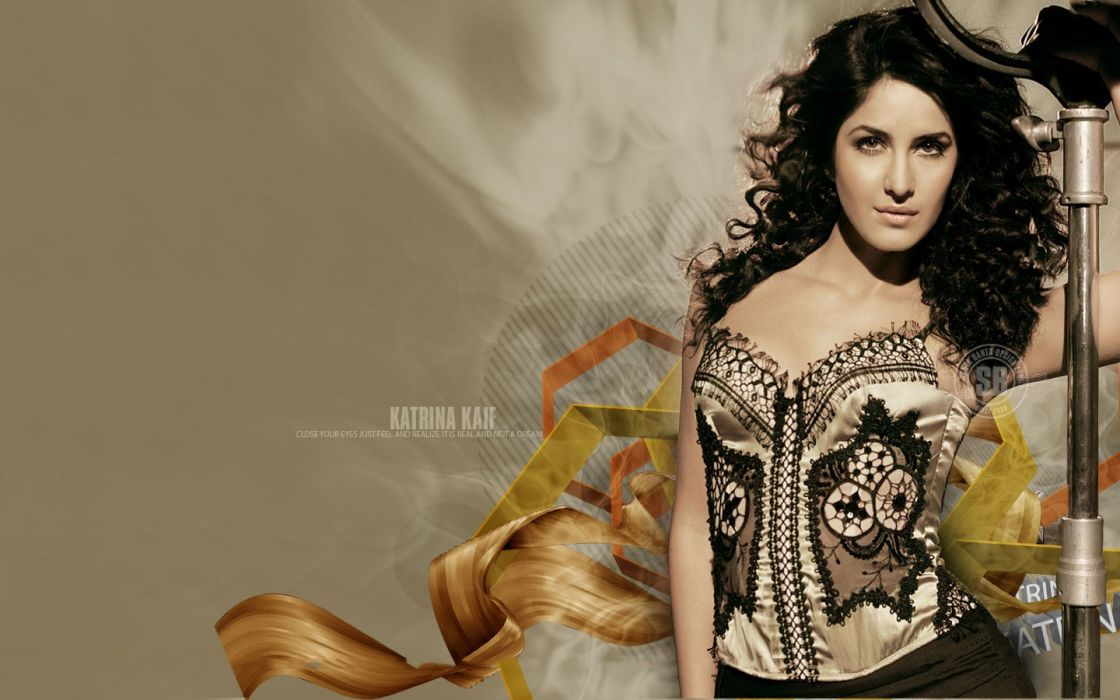 women Katrina Kaif Indian wallpaper