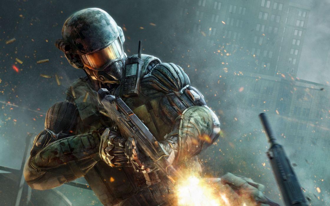 video games Crysis Crysis 3 wallpaper