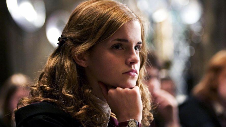 women Emma Watson actress Hermione Granger wallpaper