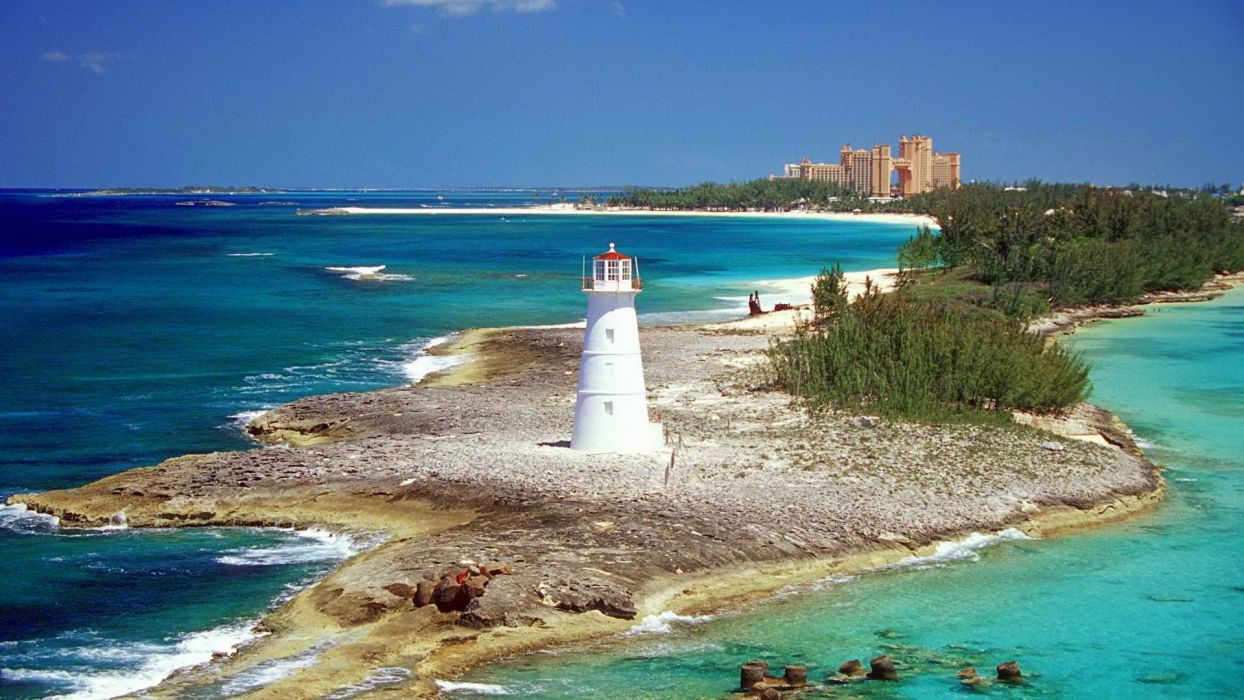 paradise islands wallpaper