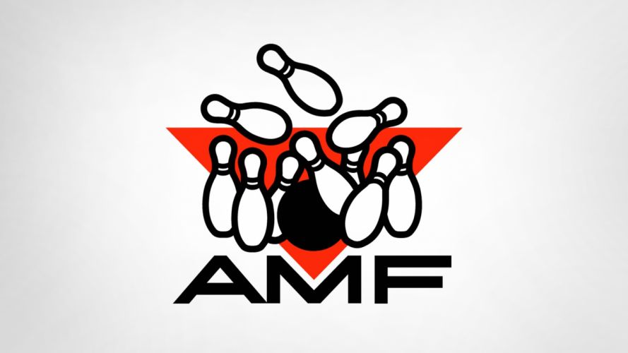 bowling logos white background pins AMF wallpaper