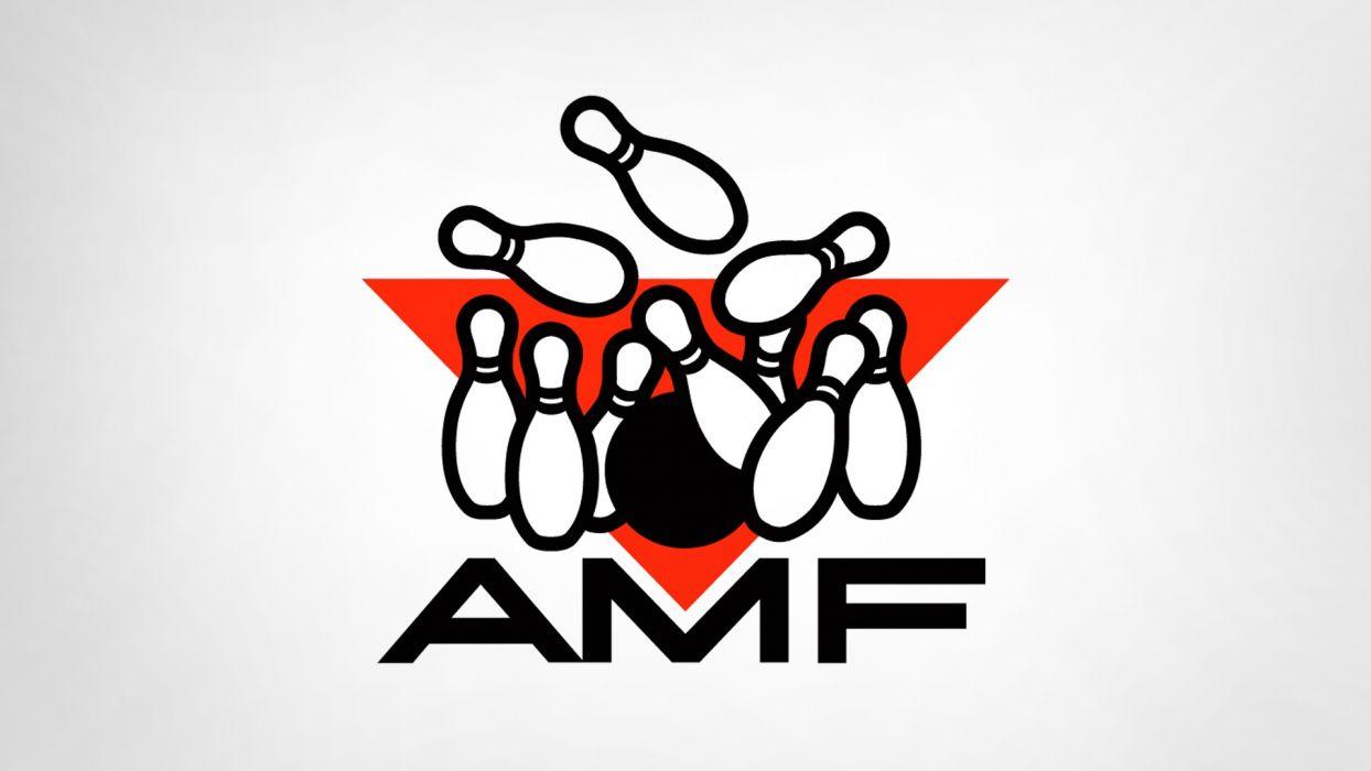 bowling logos white background pins AMF wallpaper
