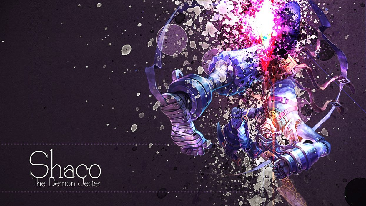 video games League of Legends legend League Shaco Game characters wallpaper