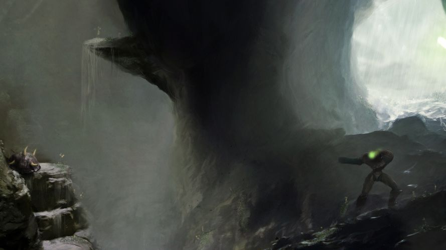 METROID sci-fi nintendo (4) wallpaper