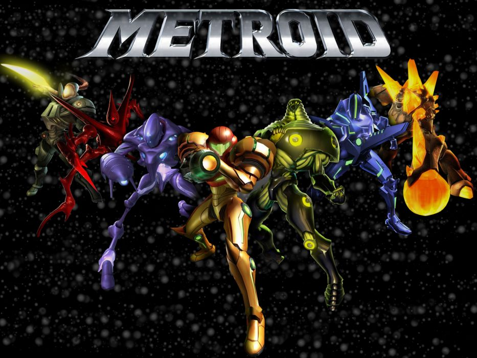 METROID sci-fi nintendo (5) wallpaper