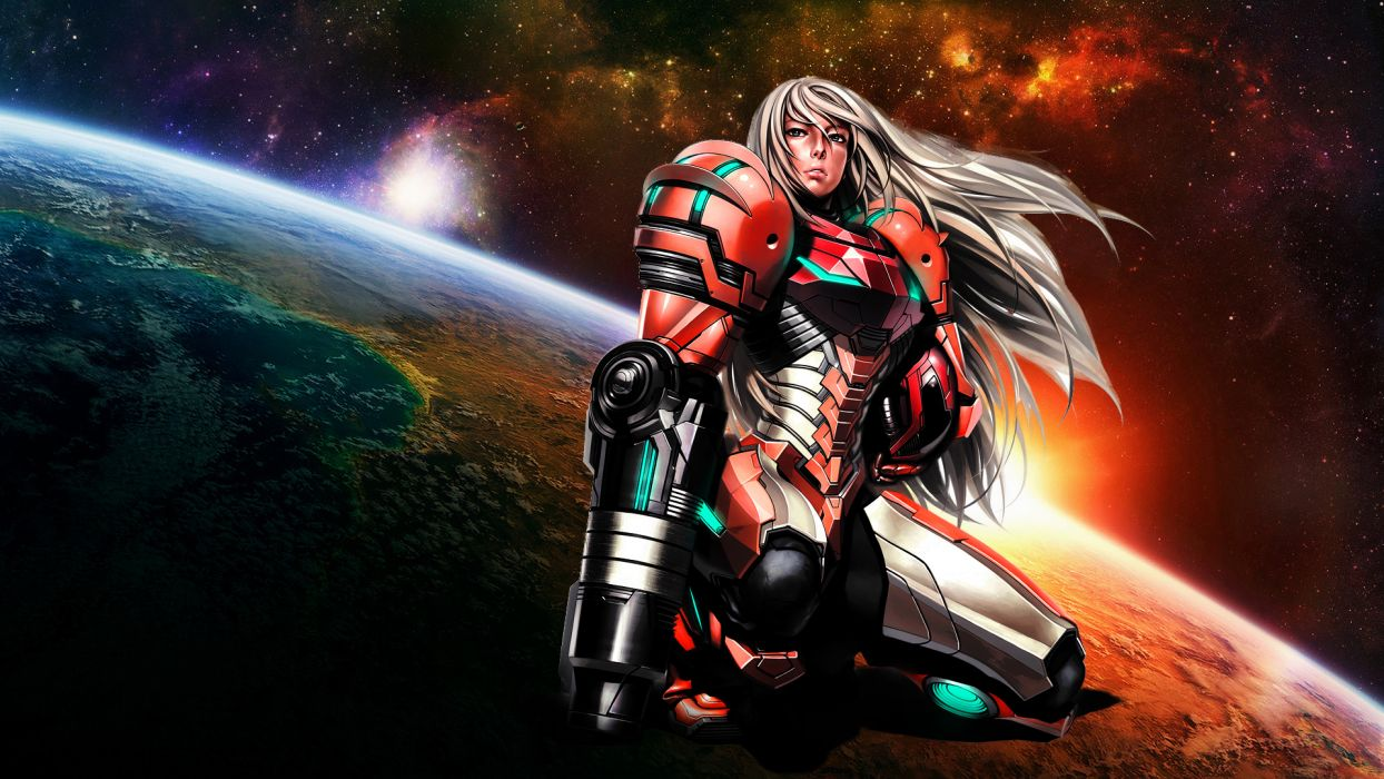 METROID sci-fi nintendo (14) wallpaper