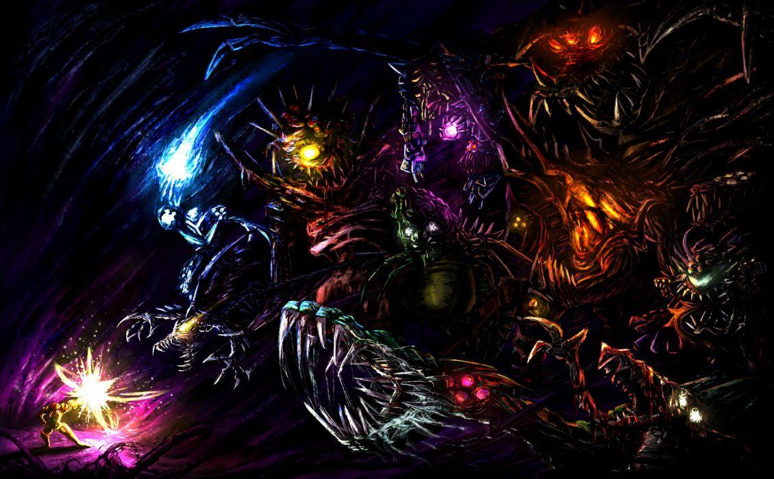 METROID sci-fi nintendo (20) wallpaper