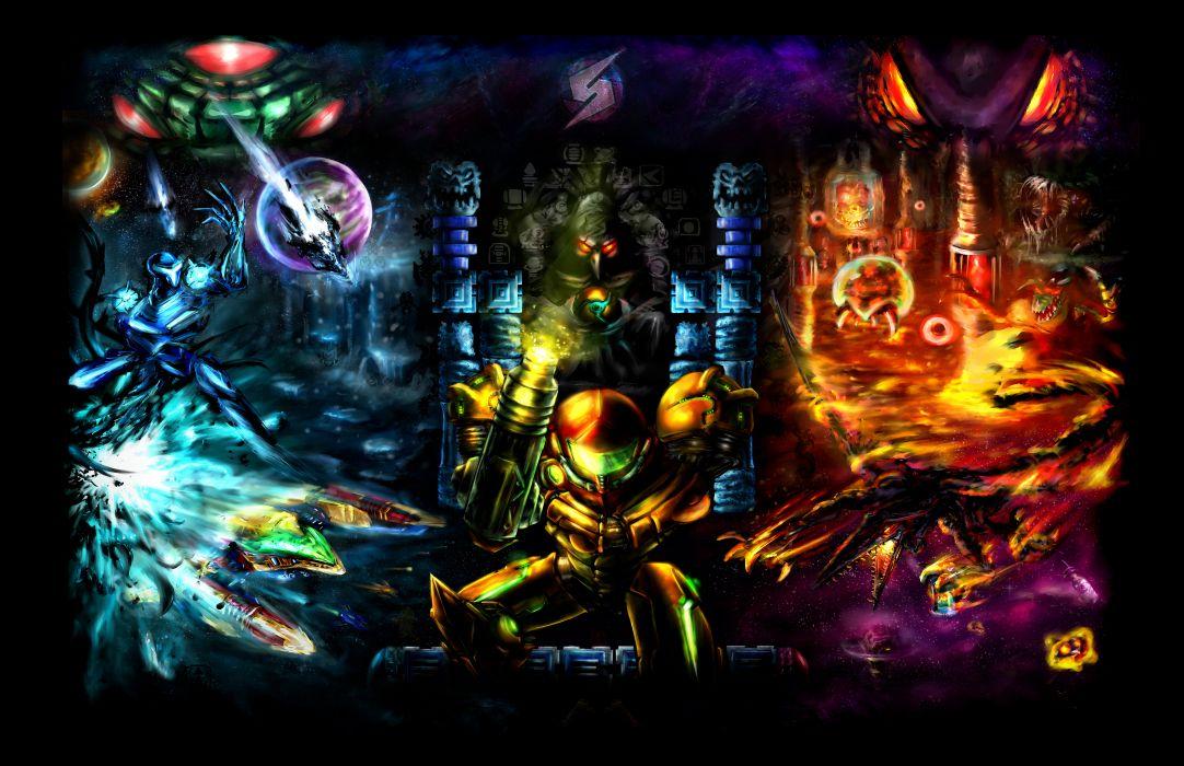 METROID sci-fi nintendo (19) wallpaper