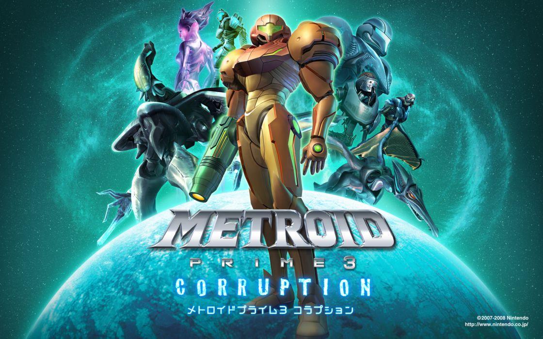 METROID sci-fi nintendo (24) wallpaper