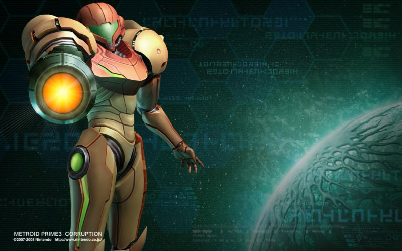 METROID sci-fi nintendo (50) wallpaper