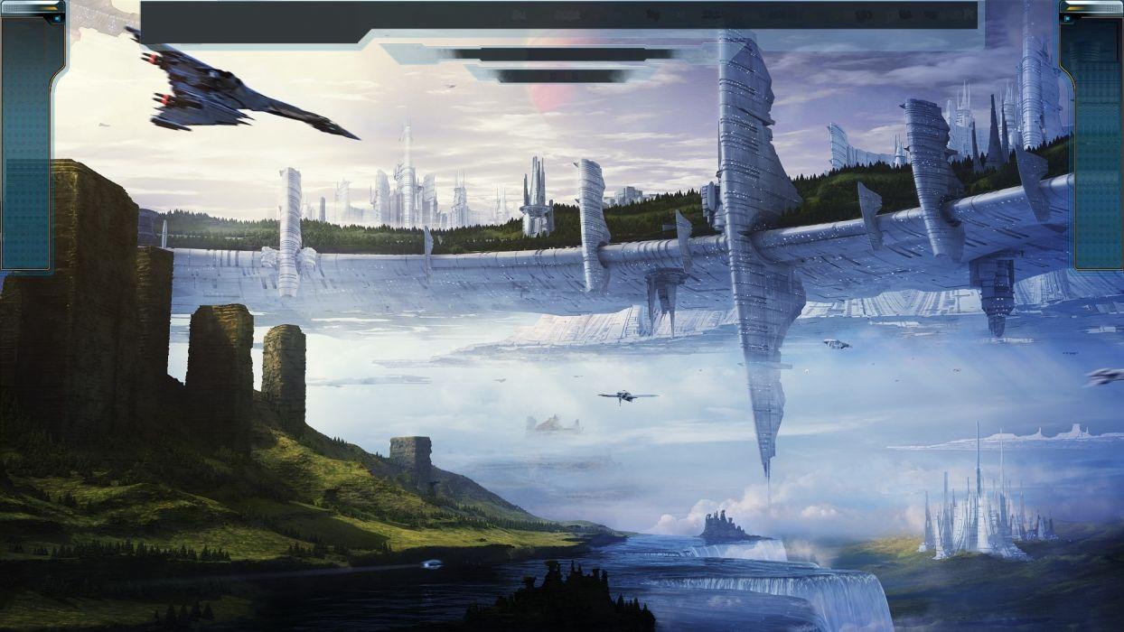STARPOINT-GEMINI sci-fi spaceship starpoint gemini (11) wallpaper