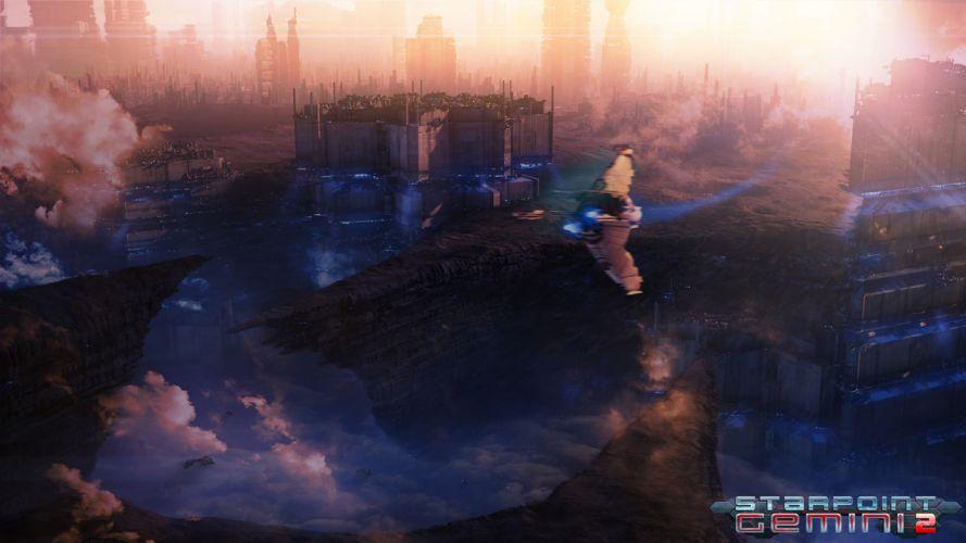 STARPOINT-GEMINI sci-fi spaceship starpoint gemini (10) wallpaper