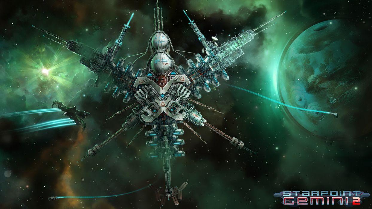 STARPOINT-GEMINI sci-fi spaceship starpoint gemini (12) wallpaper