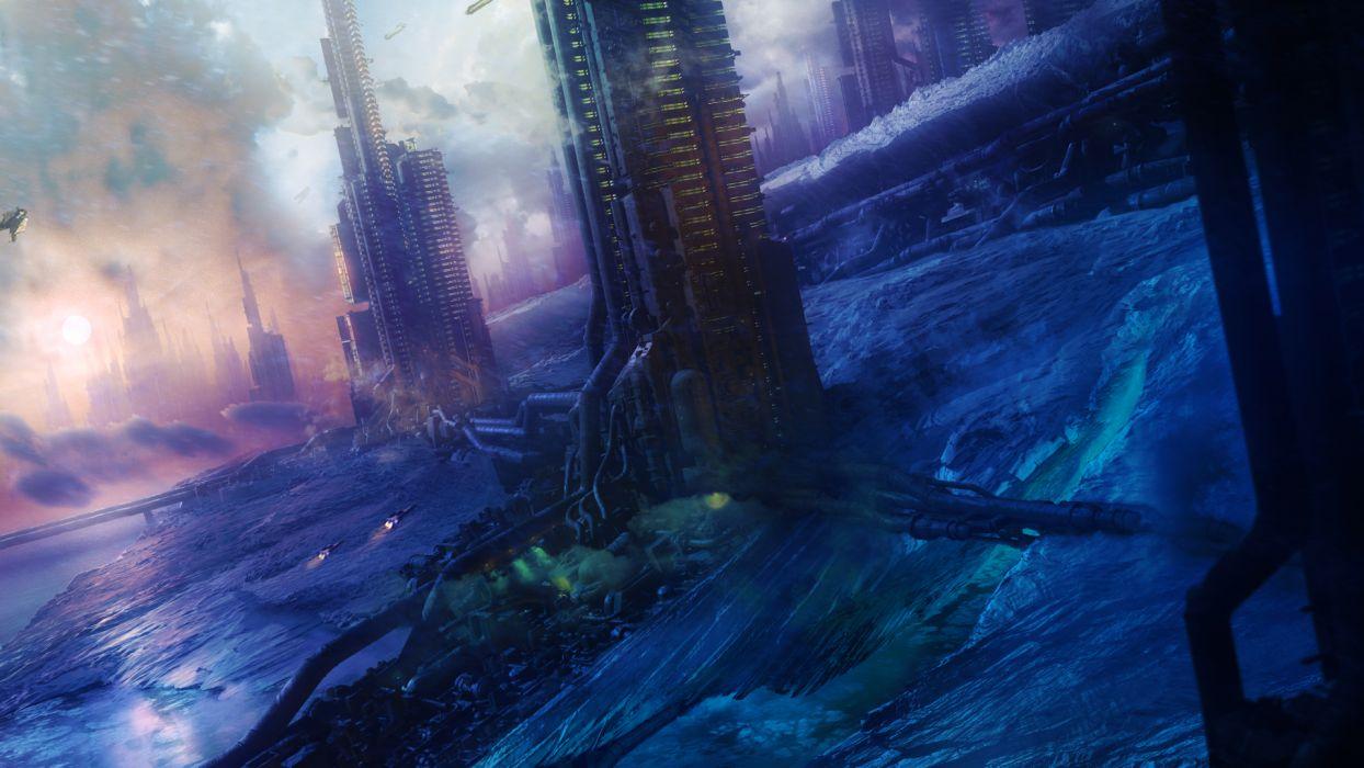 STARPOINT-GEMINI sci-fi spaceship starpoint gemini (15) wallpaper