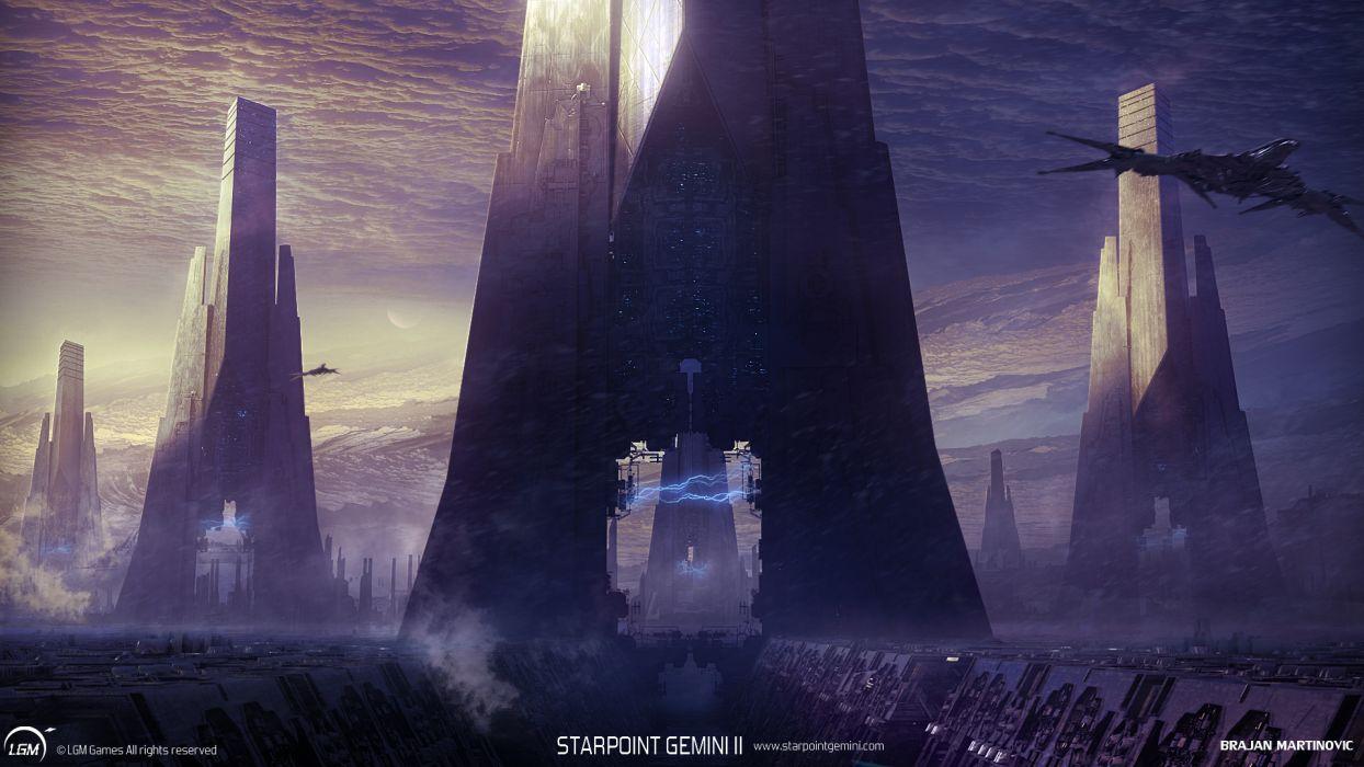 STARPOINT-GEMINI sci-fi spaceship starpoint gemini (16) wallpaper