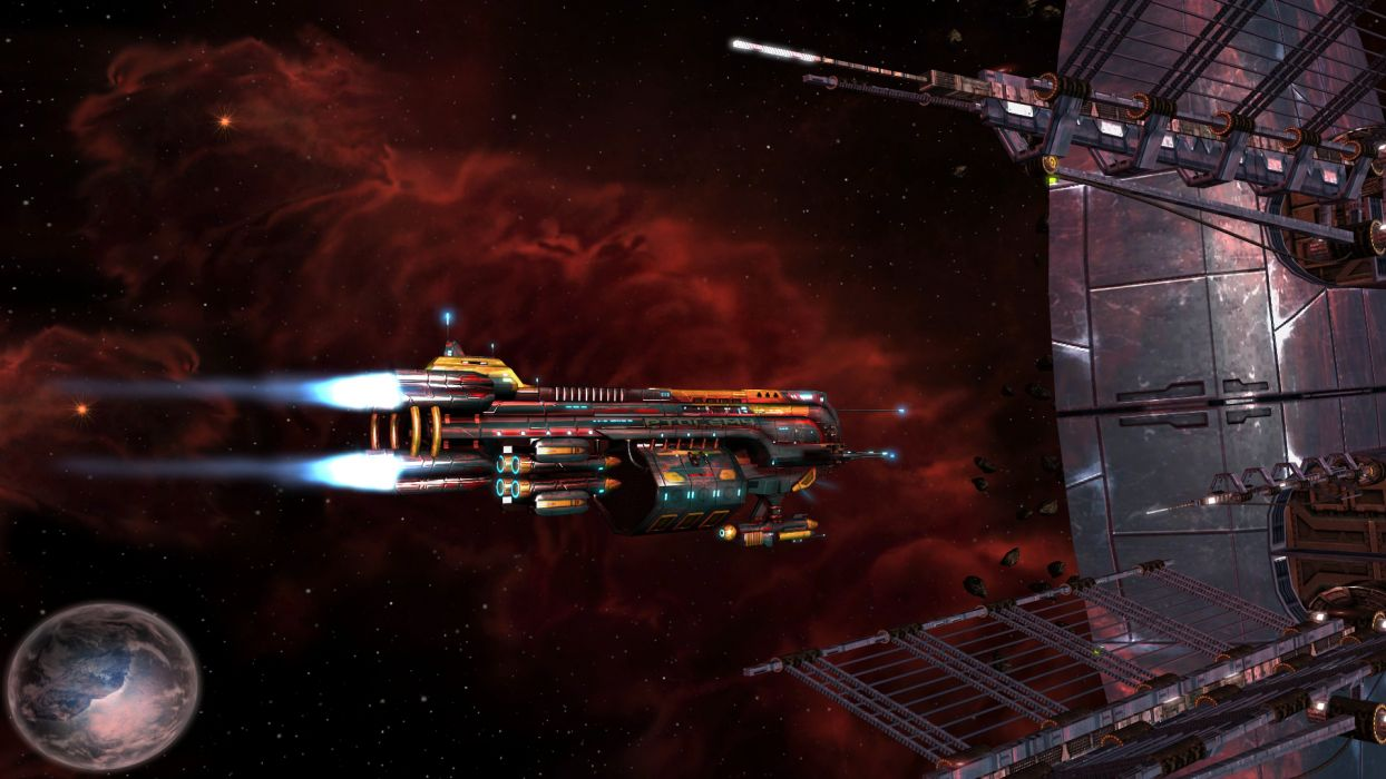 STARPOINT-GEMINI sci-fi spaceship starpoint gemini (29) wallpaper