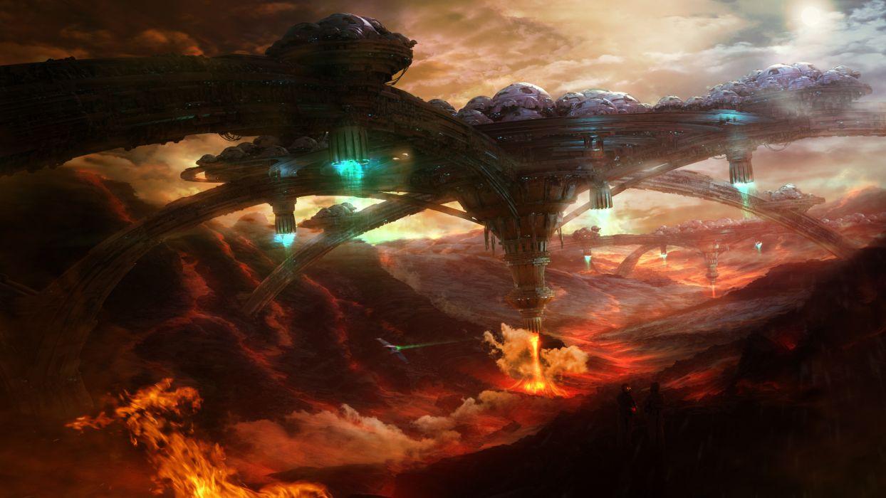STARPOINT-GEMINI sci-fi spaceship starpoint gemini (31) wallpaper
