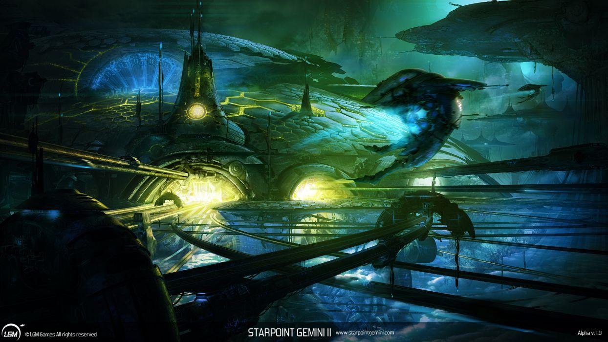 STARPOINT-GEMINI sci-fi spaceship starpoint gemini (37) wallpaper