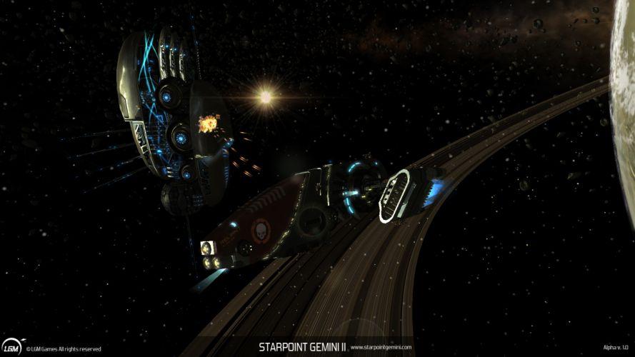 STARPOINT-GEMINI sci-fi spaceship starpoint gemini (39) wallpaper