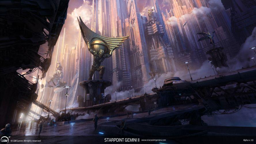 STARPOINT-GEMINI sci-fi spaceship starpoint gemini (38) wallpaper
