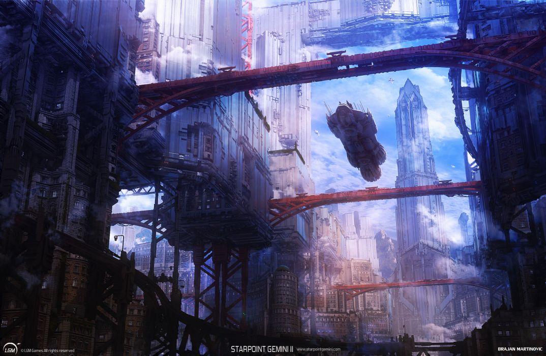 STARPOINT-GEMINI sci-fi spaceship starpoint gemini (42) wallpaper
