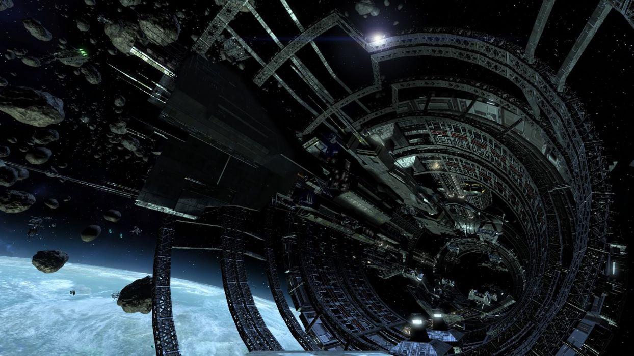 X-REBIRTH sci-fi spaceship rebirth (2) wallpaper