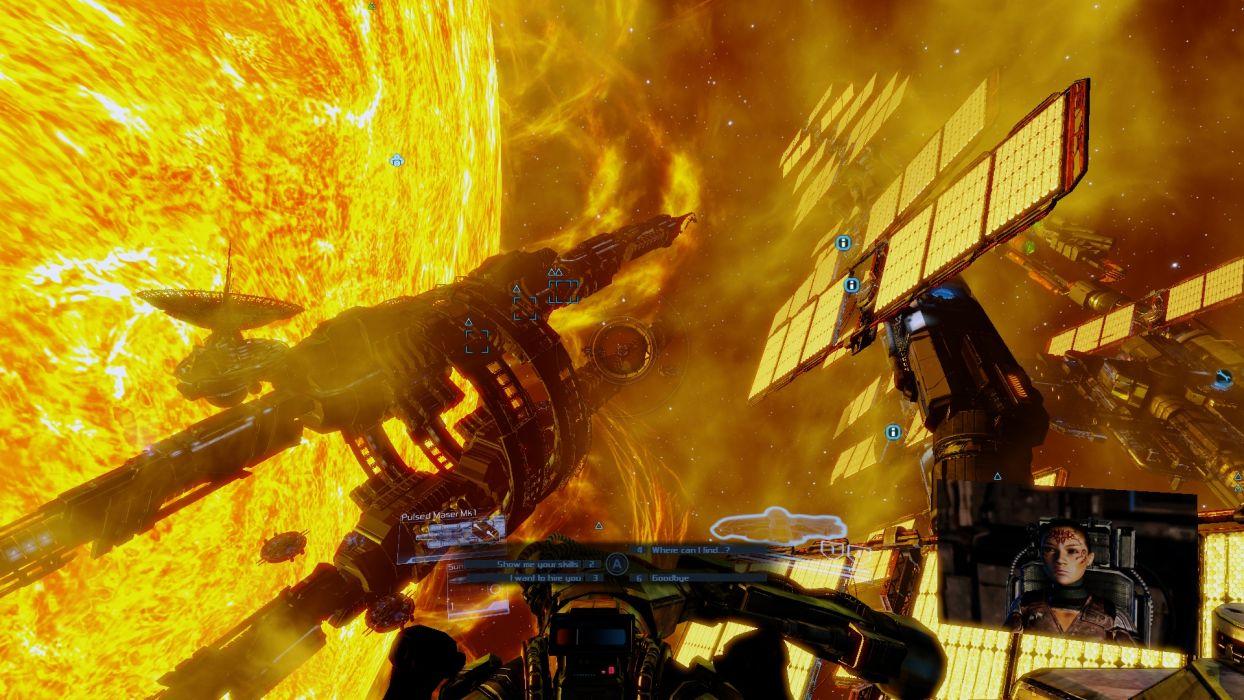 X-REBIRTH sci-fi spaceship rebirth (4) wallpaper