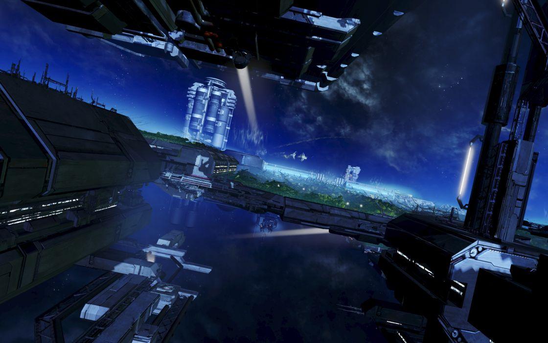 X-REBIRTH sci-fi spaceship rebirth (3) wallpaper
