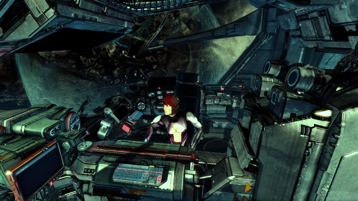 X-REBIRTH sci-fi spaceship rebirth (6) wallpaper