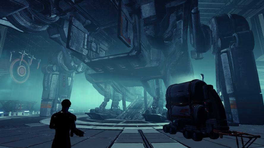 X-REBIRTH sci-fi spaceship rebirth (5) wallpaper