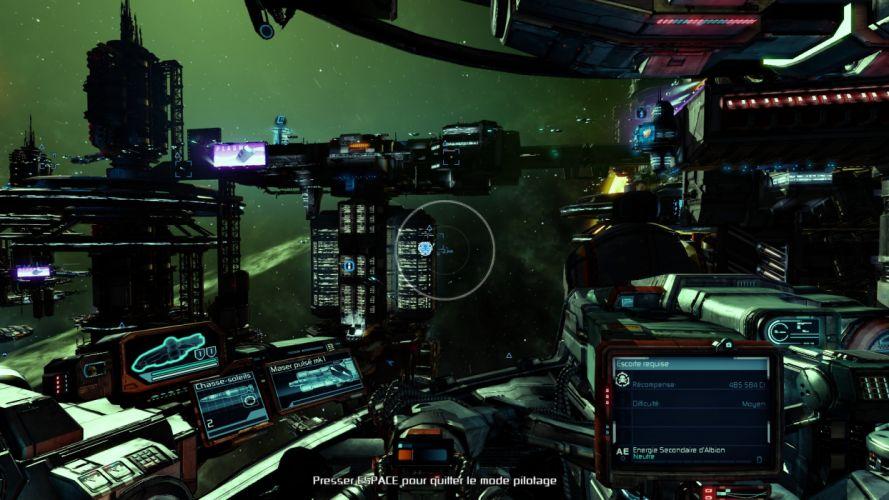 X-REBIRTH sci-fi spaceship rebirth (8) wallpaper