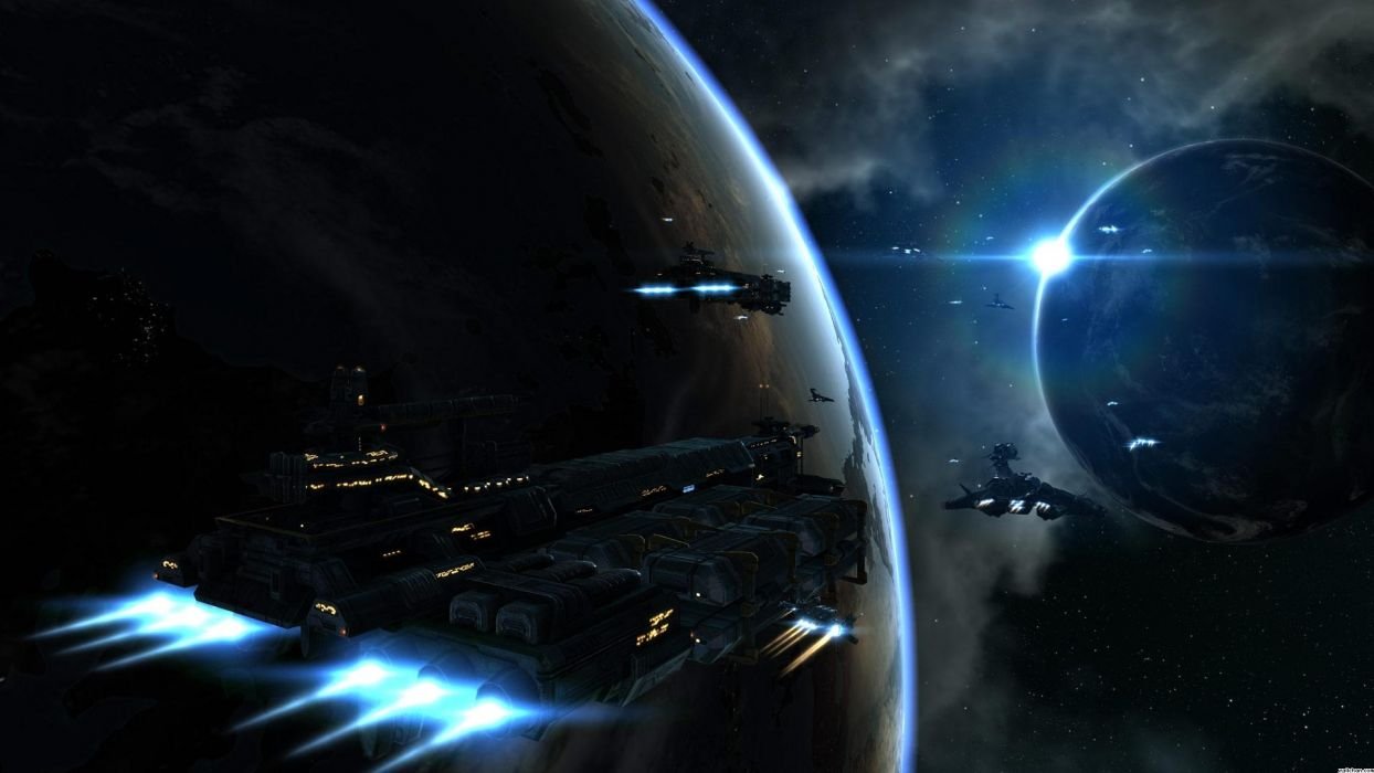 X-REBIRTH sci-fi spaceship rebirth (19) wallpaper