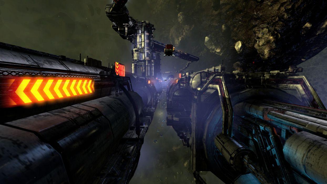 X-REBIRTH sci-fi spaceship rebirth (20) wallpaper
