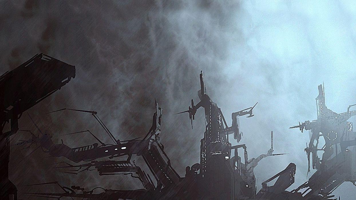 X-REBIRTH sci-fi spaceship rebirth (21) wallpaper