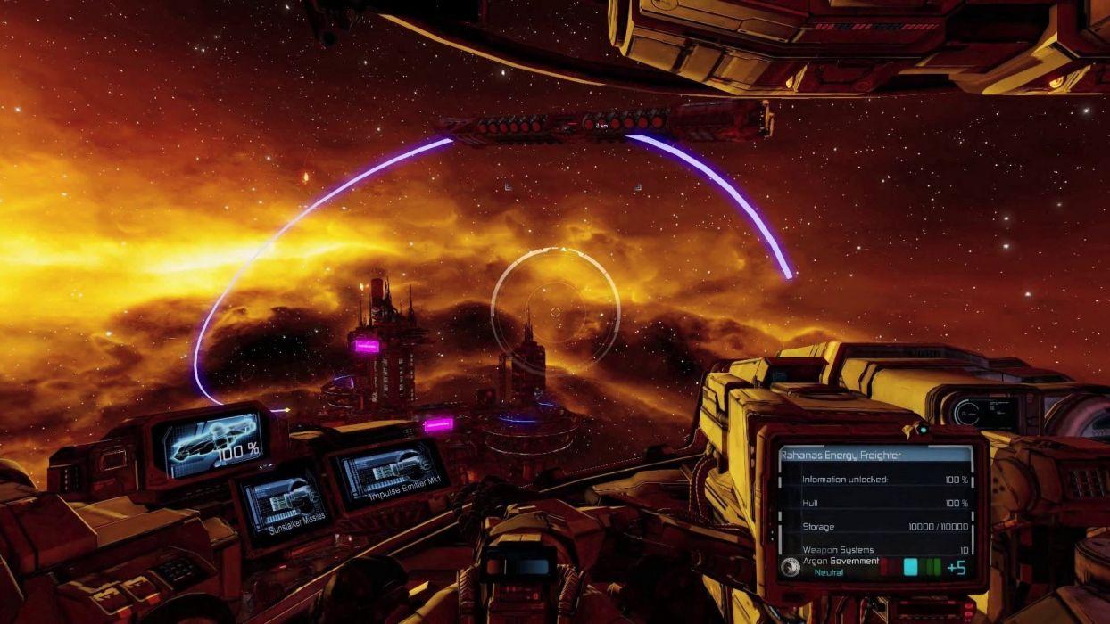 X-REBIRTH sci-fi spaceship rebirth (24) wallpaper