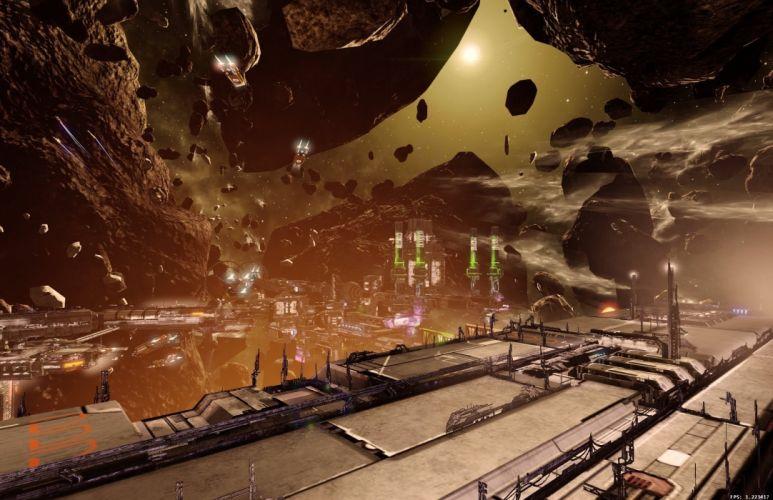 X-REBIRTH sci-fi spaceship rebirth (25) wallpaper