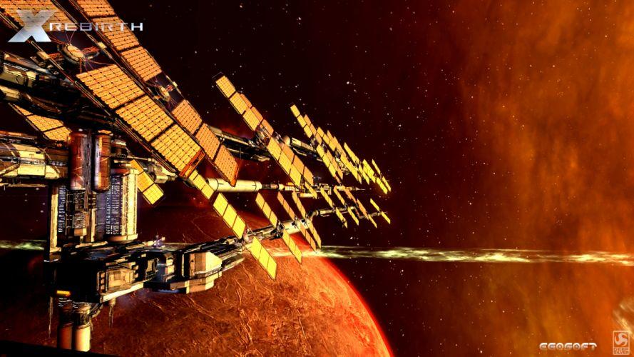 X-REBIRTH sci-fi spaceship rebirth (30) wallpaper