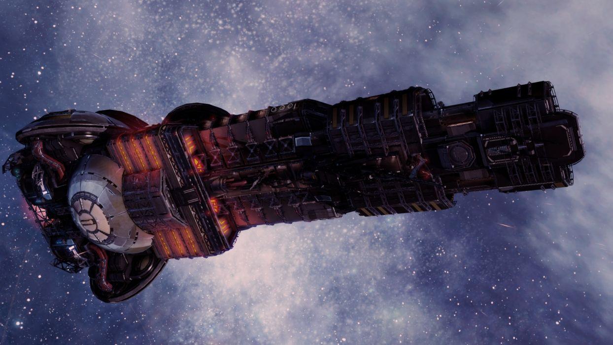 X-REBIRTH sci-fi spaceship rebirth (35) wallpaper