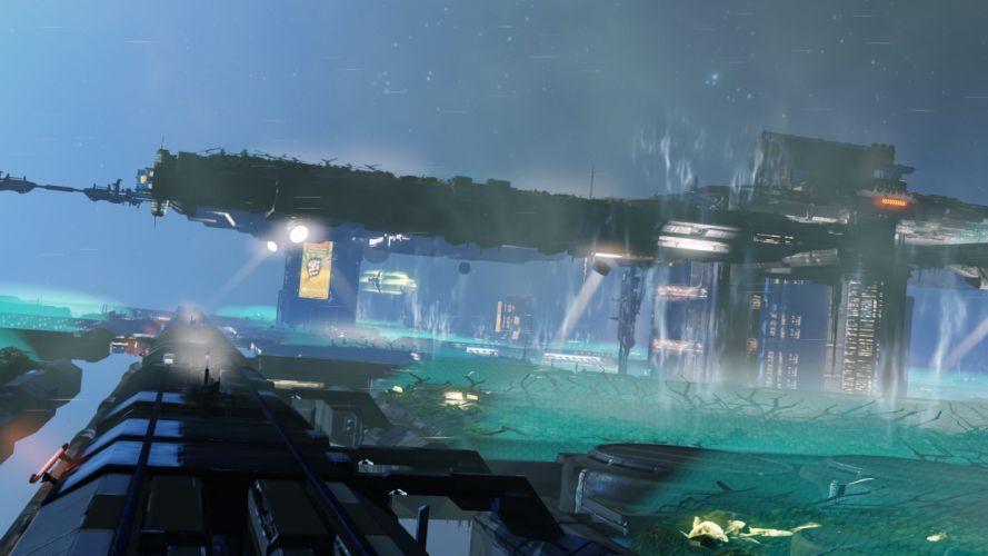 X-REBIRTH sci-fi spaceship rebirth (38) wallpaper