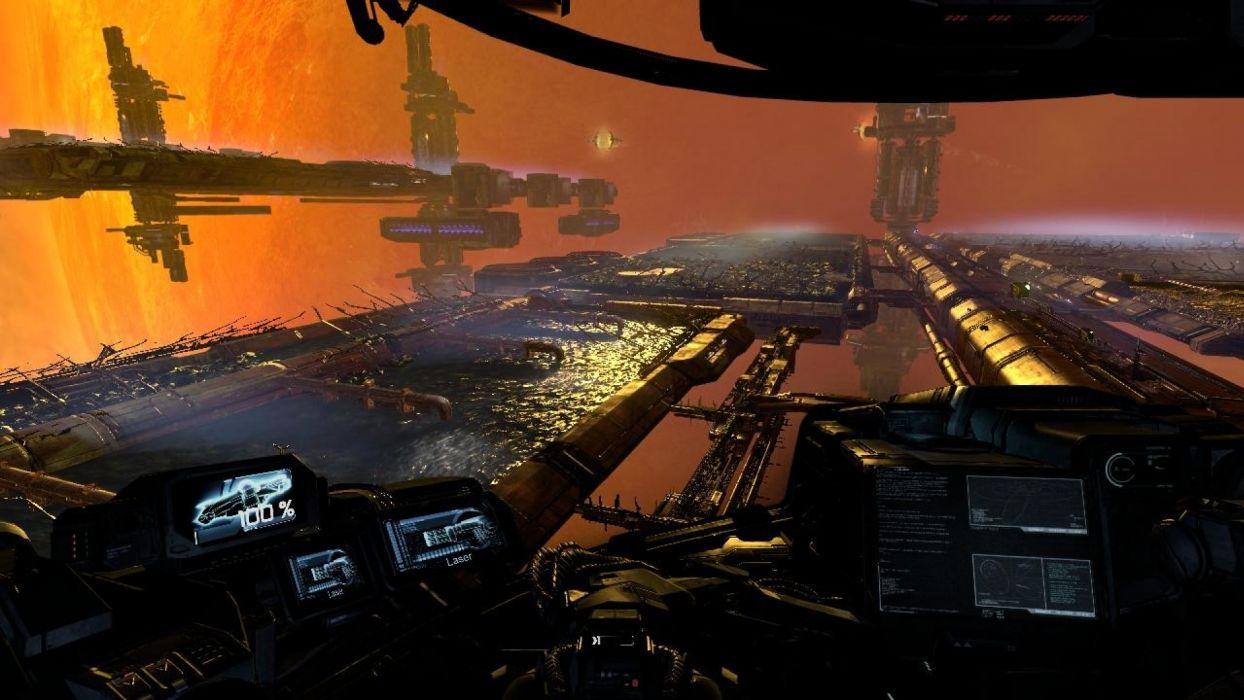 X-REBIRTH sci-fi spaceship rebirth (42) wallpaper