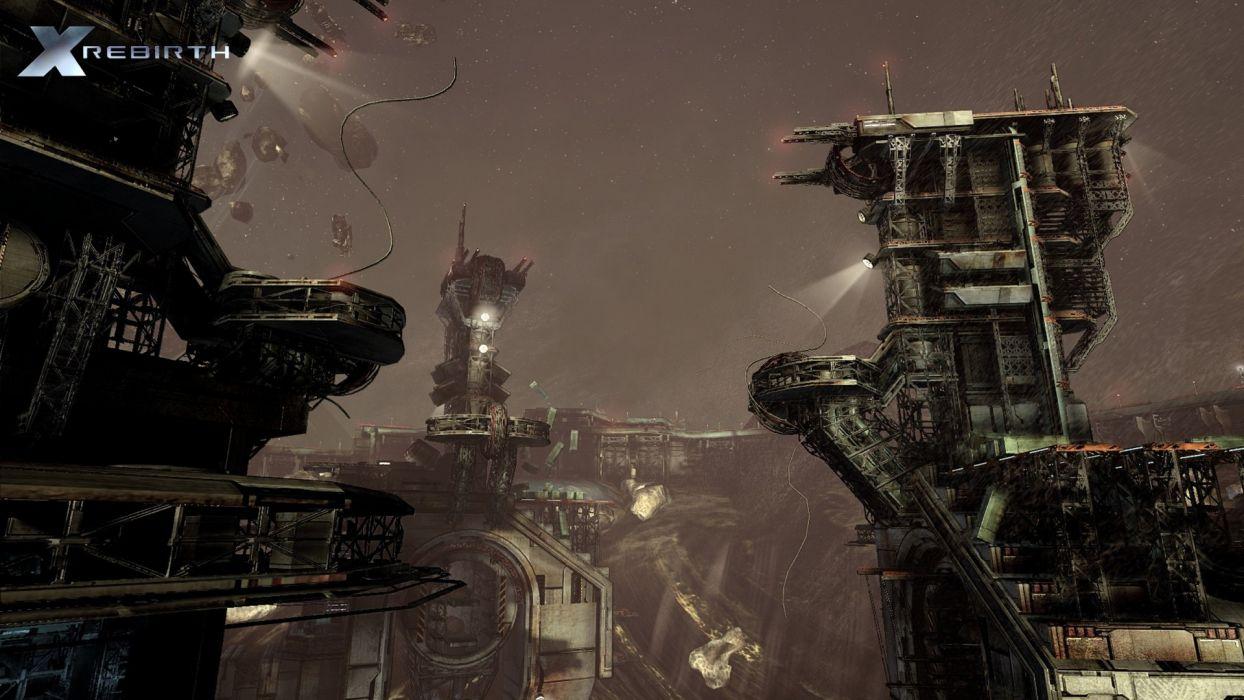 X-REBIRTH sci-fi spaceship rebirth (44) wallpaper