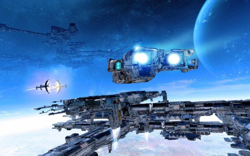 X-REBIRTH sci-fi spaceship rebirth (45) wallpaper