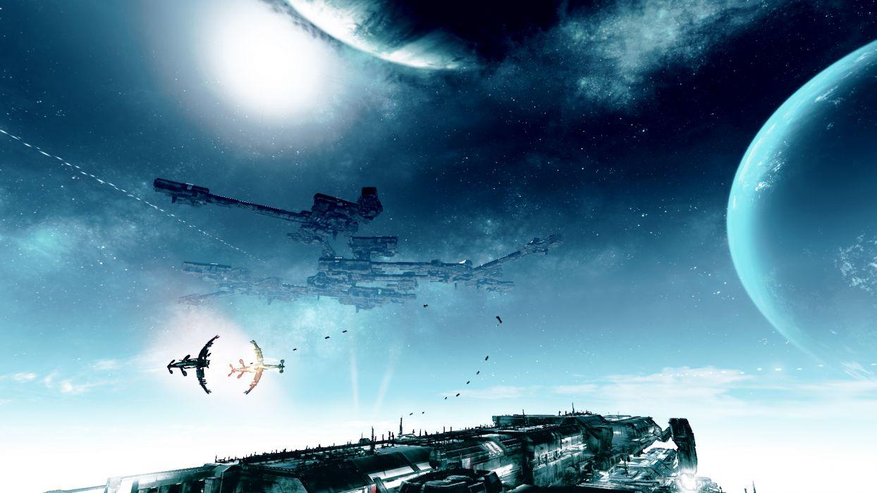 X-REBIRTH sci-fi spaceship rebirth (50) wallpaper