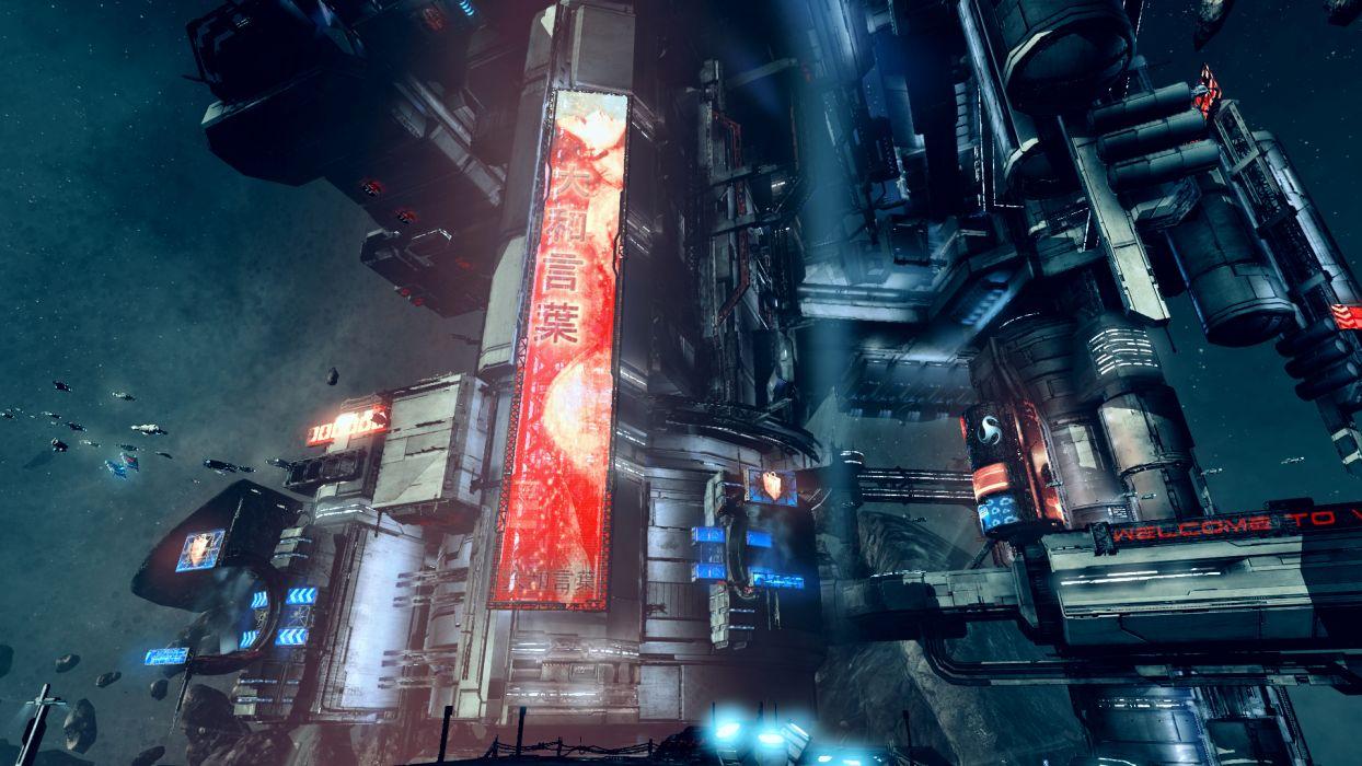 X-REBIRTH sci-fi spaceship rebirth (51) wallpaper